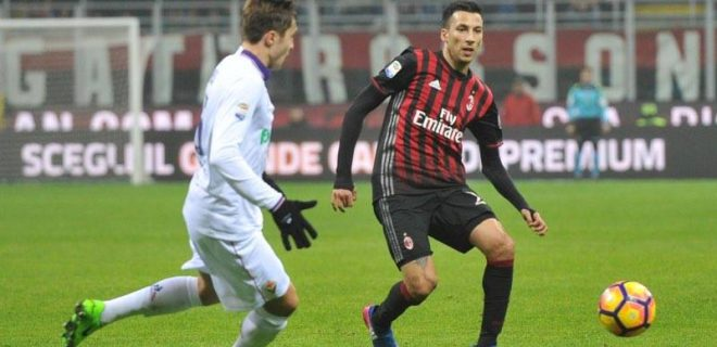 Milan Fiorentina Vangioni spaziomilan