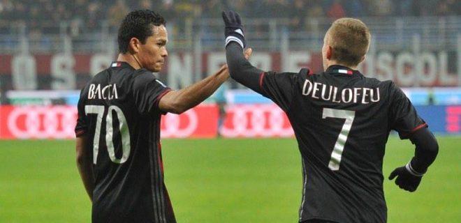 Milan-Fiorentina Deulofeu Bacca spaziomilan