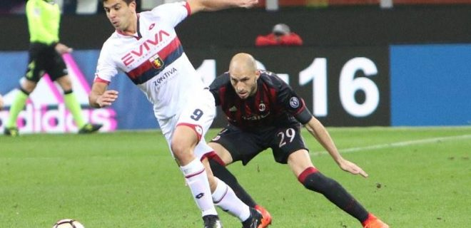 Milan-Genoa Paletta Simeone SpazioMilan
