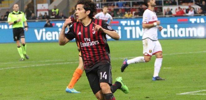 Milan-Genoa Mati Fernandez SpazioMilan