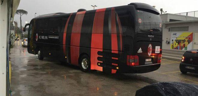 Pullman Milan a Benevento SM