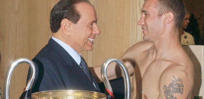 Berlusconi-Shevchenko