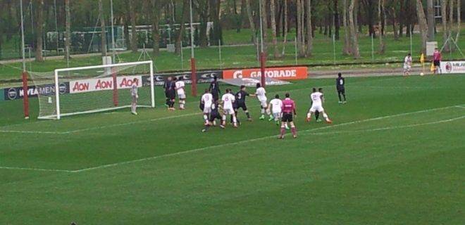 La squadra allenata da Brocchi va vicino al gol