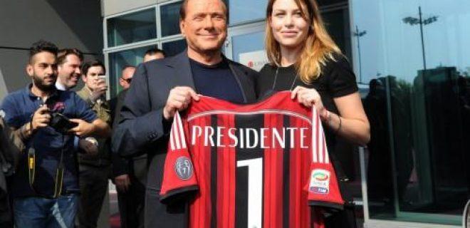 Il presidente e la vice presidente rossonera