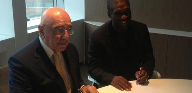 seedorf galliani twitter