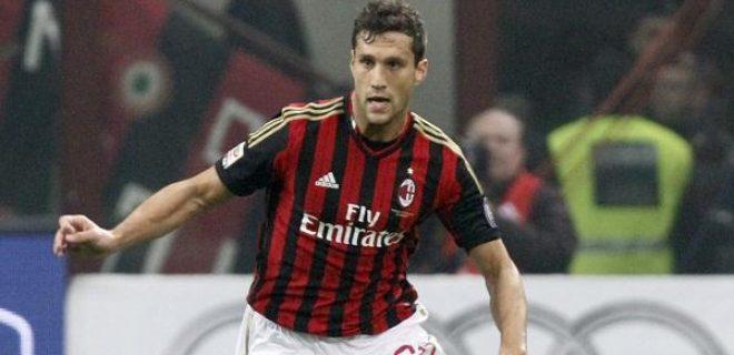 Matias Silvestre (Milan), rossonero dalla scorsa estate, già all'Inter nella stagione 2012/2013